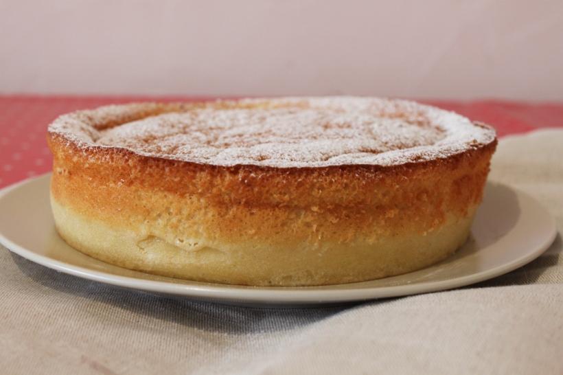 Gateau Magique Dans Moule A Cake