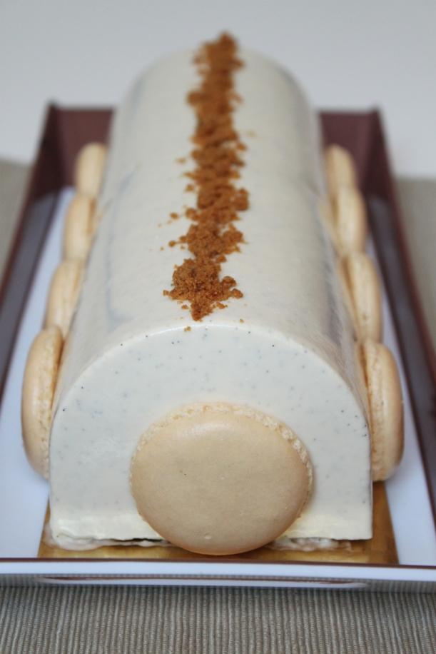 bûche-pommes-spéculoos-vanille7