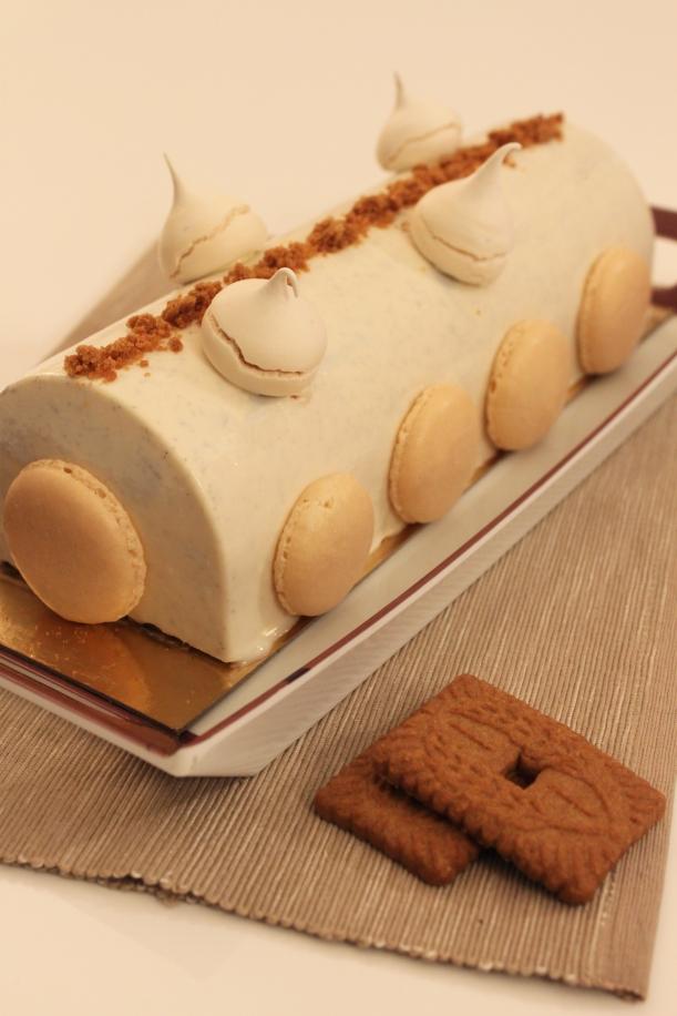 bûche-pommes-spéculoos-vanille8